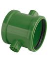 Airfit pp overschuifmof, uitw 2 nokken, groen, 110mm