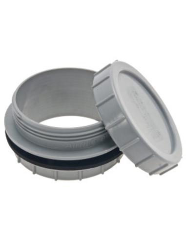 Airfit pp tankaansluiting incl. schroefdeksel, grijs, 110mm