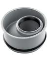 Airfit pp inzetverloopring, centrisch, grijs, 110x40mm