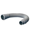 Airfit HT flexibele afvoerslang, grijs, 50 mm, 1000 mm