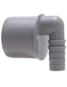 Airfit pp overgang 90°, grijs, 50x21-19mm sltule