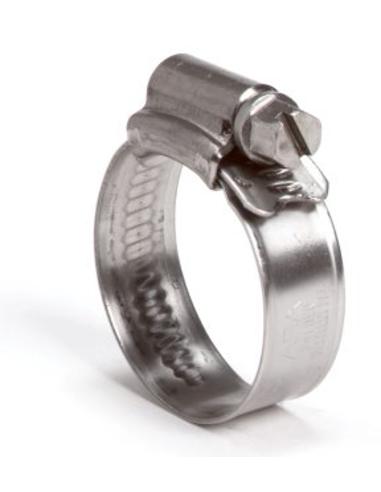 Aba® rvs wormschroef slangklem, 11-17 mm