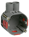 Attema® hollewand inbouwdoos, 50mm, 16/19mm, 2 invoeren
