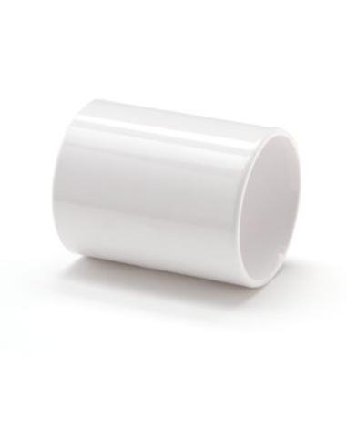Nicoll® pvc mof, 2 x inwendig lijm, wit, RAL 9010, KOMO,32mm