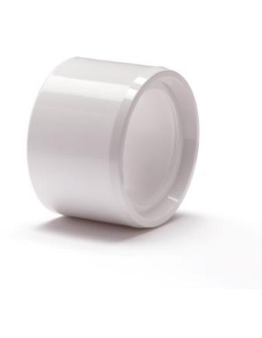 Nicoll® pvc verloopring,centr.,uitw. x inw.,wit,KOMO,40x32mm