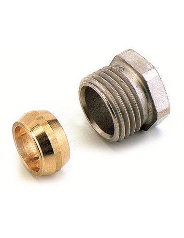 "Comap knelset 1/2""x15mm staal/koper Sudo 587154"
