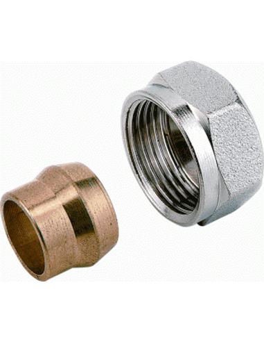 Comap knelset M22x15mm staal/koper 835415