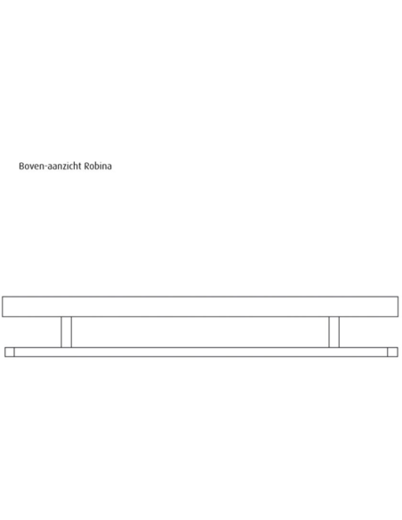 Budget Line designradiator, type Robina, RB 70/60