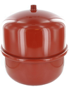CFL exp.vat 18-0,5 rd st. rood laag model (Flamco)