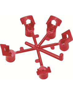 Setje van 5 nozzles met sleuteltje voor SummerRain mini