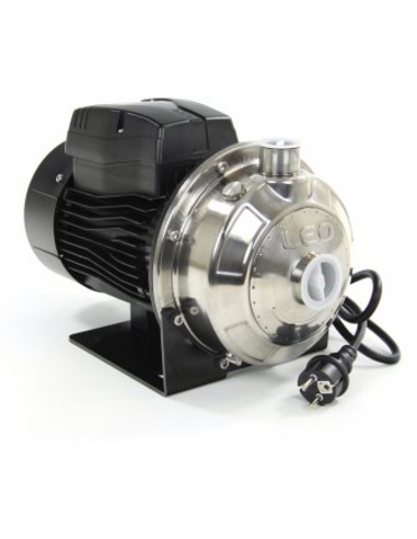 LEO normaalzuigende centrifugaalpomp, rvs, 230 V, 1,10 kW