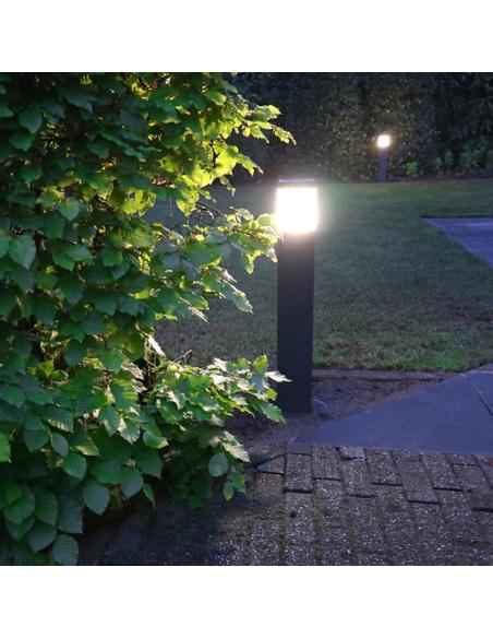 Adurolight led tuinverlichting Bollard, Square, h 680 mm