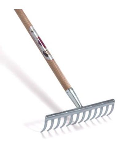 Talen Tools tuinhark, 12-tands, incl. steel, verzinkt