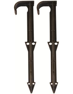 grondpen 16 mm voor druppelslang of SummerRain slang 15 mm, zak van 100 stuks