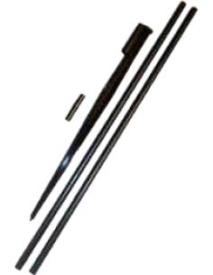 Borderpijpset 40 tot 80 cm hoog