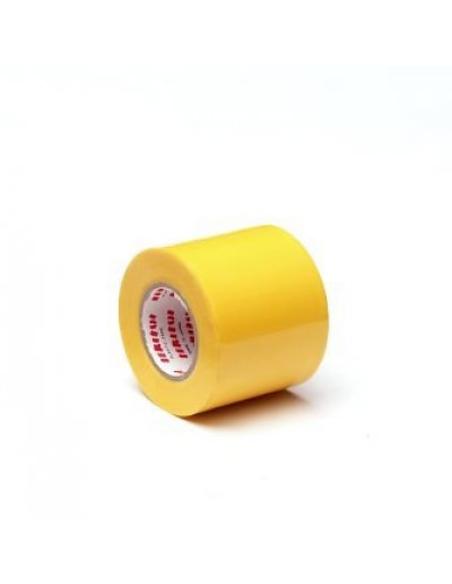 Evercel pvc tape, b 50 mm, l 20 m, geel, per rol