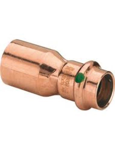 Profipress inschuifsok 15x12mm spie-pers 2415.1 koper m/SC