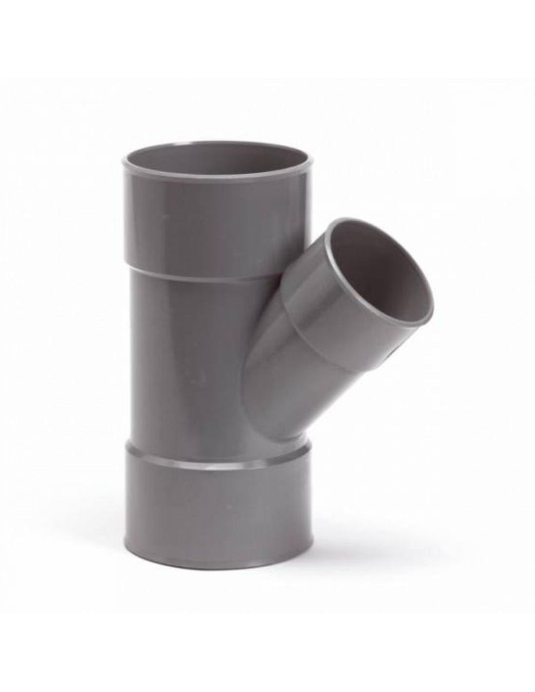 PVC Winkel 90° Klebeanschluss IA Ø 63 mm x 63 mm