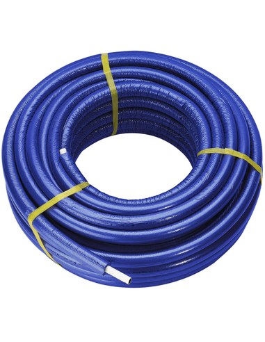 Smartpress Fosta buis 16x2,0 PE-Xc/AL/PE-Xc blauw (75m) isol