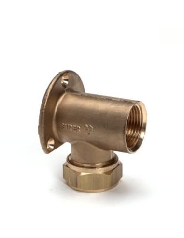 CFL knel muurpl.1/2bi-15mm