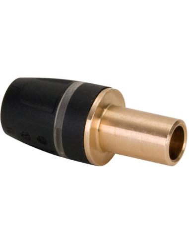 TECElogo® vast overgangsstuk, messing, 16 mm/15mm CU