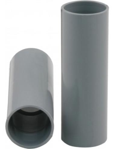Pvc elektrasok, grijs, slagvast, 19 mm