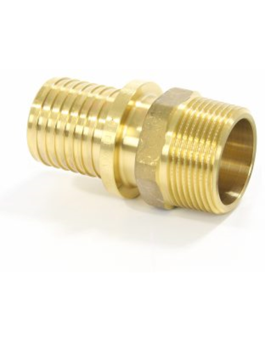 "TECEflex® draadkoppeling, messing, persxbu.dr, 16 mmx½"""