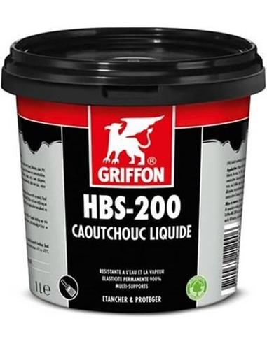 Griffon® HBS-200 liquid rubber, pot à 1 liter