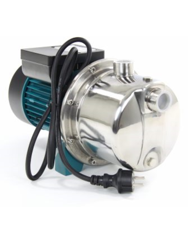 LEO meertraps centrif.pomp, rvs, 4XCm120, 230 V, 1,10 kW