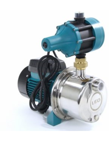 LEO zelfaanz. centrif.pomp,rvs, AJm75SE, 0,75kW, pompcontrol