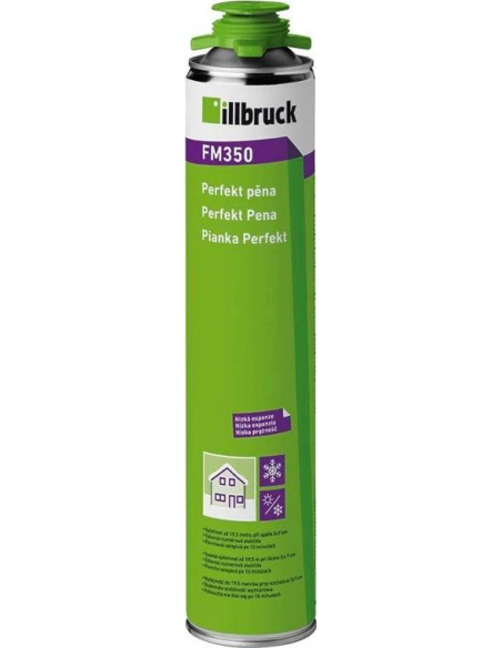 Illbruck® 1-component pur pistoolschuim, FM310, bus à 750 ml