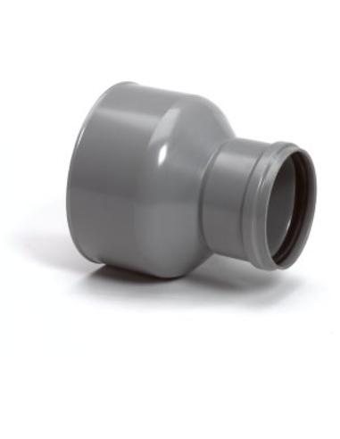 Pvc-overgangsstuk, gres/pvc, SN4, 110 x 180 mm