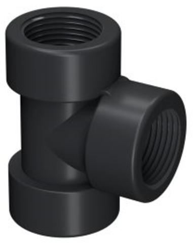"Self-Seal pp T-stuk 90°, 3x bi.dr., 6 bar, ½"" x ½"" x ½"""