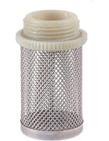 "RIV rvs filterkorf, type 2310, 1x buitendraad, ½"""