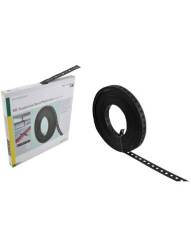 Wal BIS montageband 19x3,0 10m staal geplastificeerd 0832019